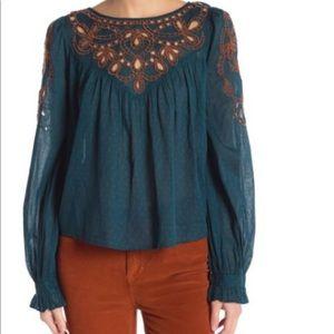 Free People peasant blouse